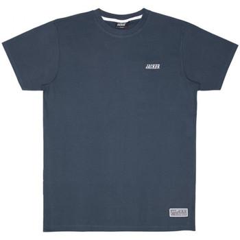 Kleidung Herren T-Shirts Jacker Classic logo Blau