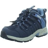 Schuhe Jungen Wanderschuhe Meindl Bergschuhe Snap Junior 2046 009 blau
