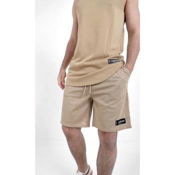 Kleidung Herren Shorts / Bermudas Sixth June Short  Mesh beige
