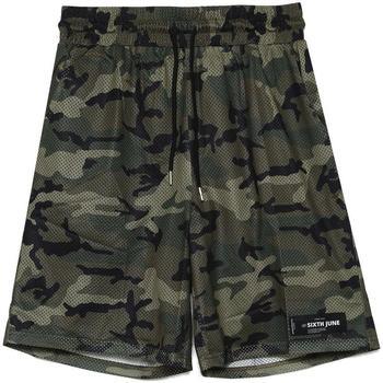 Kleidung Herren Shorts / Bermudas Sixth June Short  Mesh