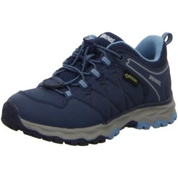 Schuhe Jungen Wanderschuhe Meindl Bergschuhe Ontario Junior GTX 2109 009 blau