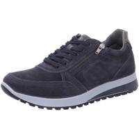 Schuhe Herren Sneaker Low Ara Schnuerschuhe 11-34553-22 blau