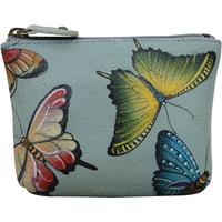 Taschen Damen Kosmetiktasche Anuschka 1031 Butterfly Heaven - Handbemalt Leder parent
