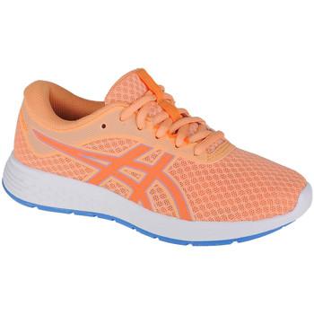 Schuhe Kinder Laufschuhe Asics Patriot 11 GS Orange