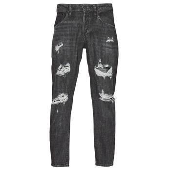 Kleidung Herren Slim Fit Jeans Jack & Jones JJIFRANK JJLEEN Schwarz