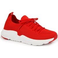 Schuhe Damen Sneaker Low American Club INT1099C Rot