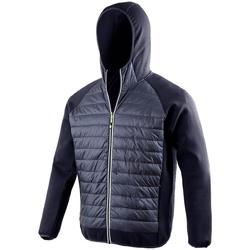 Kleidung Herren Daunenjacken Spiro S268M Marineblau/Marineblau