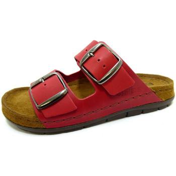 Schuhe Damen Pantoffel Rohde  rot