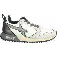 Schuhe Damen Sneaker Low W6yz Sneaker Weiß/Grau