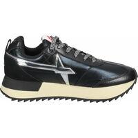 Schuhe Damen Sneaker Low W6yz Sneaker Schwarz/Silber
