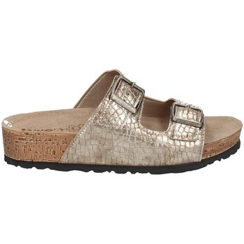 Schuhe Damen Pantoffel Inblu NM 19N Silbern