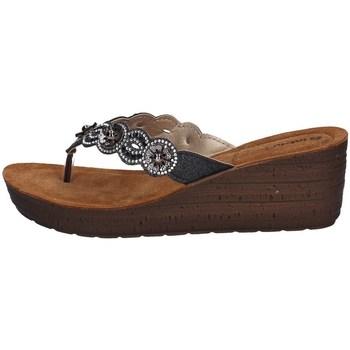 Schuhe Damen Zehensandalen Inblu GM 37 Schwarz