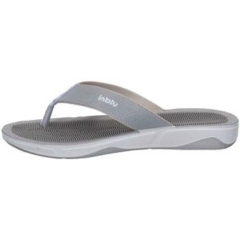Schuhe Damen Zehensandalen Inblu DD 11 Silbern