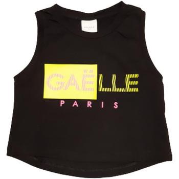 Kleidung Jungen Tops GaËlle Paris - T-shirt nero 2746M0333 NERO