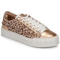 Schuhe Damen Sneaker Low Vanessa Wu LEVANTER Leopard