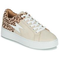 Schuhe Damen Sneaker Low Vanessa Wu VENDAVEL Beige / Leopard
