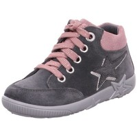 Schuhe Mädchen Sneaker High Superfit Schnuerschuhe 1-006435-2000 grau