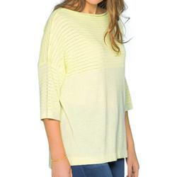 Kleidung Damen Pullover Deeluxe S19304W Gelb