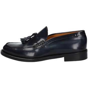 Schuhe Herren Slipper Hudson 07 BLAU