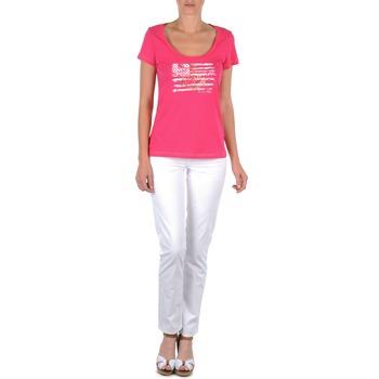 Kleidung Damen 5-Pocket-Hosen Tommy Hilfiger LENNY Rose