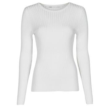 Kleidung Damen Pullover Only ONLNATALIA Naturfarben
