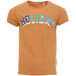 Kleidung Herren T-Shirts Scotch & Soda 136483-1337 Braun