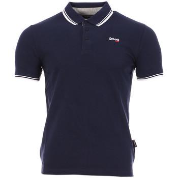Kleidung Herren Polohemden Schott PSBRYAN21 Blau