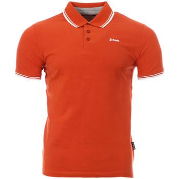 Kleidung Herren Polohemden Schott PSBRYAN21 Orange
