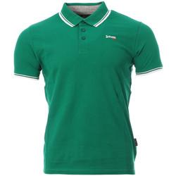 Kleidung Herren Polohemden Schott PSBRYAN21 Grün