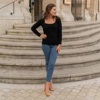 Kleidung Damen Pullover Céleste NYSSA Schwarz