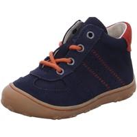 Schuhe Jungen Sneaker High Ricosta Schnuerstiefel Sami 74 1224600/184 blau