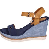 Schuhe Damen Sandalen / Sandaletten Enrico Coveri BH490 Blau