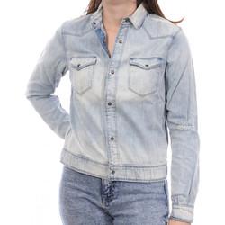 Kleidung Damen Jeansjacken Scotch & Soda 134807-6 Blau