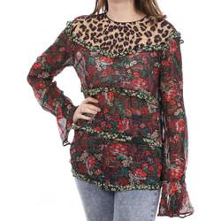 Kleidung Damen Langarmshirts Scotch & Soda 136793-17 Rot