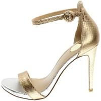 Schuhe Damen Sandalen / Sandaletten Exé Shoes Exe' SILVIA-750 Sandalen Frau CHAMPAGNER / SILBER / GOLD CHAMPAGNER / SILBER / GOLD