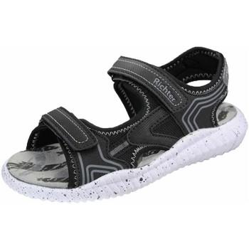Schuhe Jungen Sandalen / Sandaletten Richter Schuhe Sandale black 7350 1171 9902 schwarz