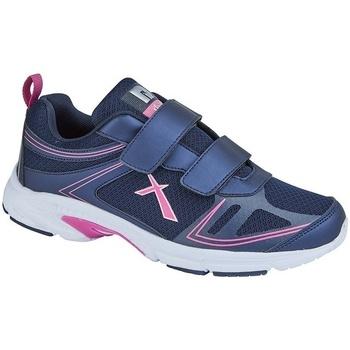 Schuhe Damen Sneaker Low Dek  Marineblau/Fuchsie
