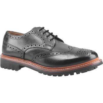Schuhe Herren Derby-Schuhe Cotswold  Schwarz