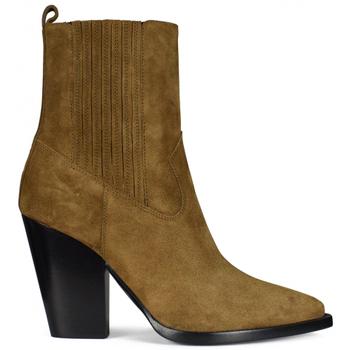 Schuhe Kinder Stiefel Saint Laurent  Braun