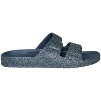 Schuhe Damen Pantoffel Cacatoès Trancoso Blau