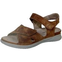 Schuhe Damen Sandalen / Sandaletten Hartjes Sandaletten BREEZE mandarine-cignac 1321127997253 braun