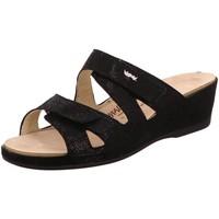 Schuhe Damen Pantoffel Vital Pantoletten 4103-158-99 schwarz