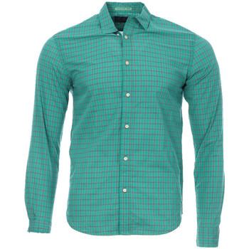 Kleidung Herren Langärmelige Hemden Scotch & Soda 136298-219 Grün