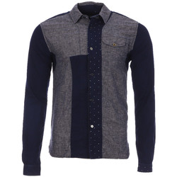 Kleidung Herren Langärmelige Hemden Scotch & Soda 128097-A Grau