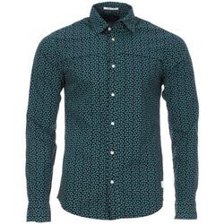 Kleidung Herren Langärmelige Hemden Scotch & Soda 130692-D Blau