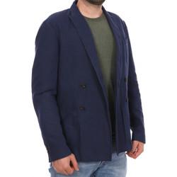 Kleidung Herren Jacken / Blazers Scotch & Soda 136181-155 Blau