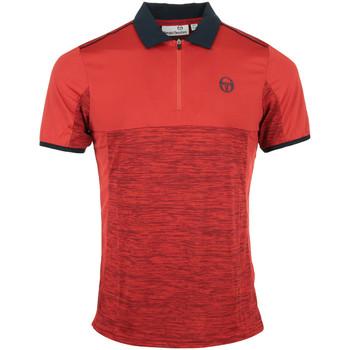 Kleidung Herren Polohemden Sergio Tacchini Aka Polo Rot