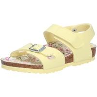 Schuhe Mädchen Sportliche Sandalen Birkenstock Mädchen Sandale gelb