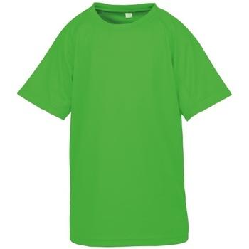 Kleidung Jungen T-Shirts Spiro S287J Neongrün
