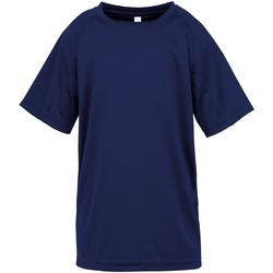 Kleidung Jungen T-Shirts Spiro S287J Navy